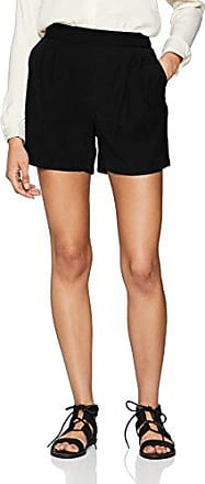 Vila Clothes Viblamy HW Pant, Pantalones para Mujer, Negro (Black), 38 (Talla del Fabricante: Small)