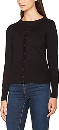 CLOTHES Vistrike Knit Cardigan, Gilet Femme, Noir (Black Black), 38 (Taille Fabricant: Medium)Vila