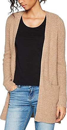 CLOTHES VIPLACE KNIT CARDIGAN-NOOS, Gilet Femme, Gris (Light Grey Melange), 34 (Taille fabricant: X-Small)Vila