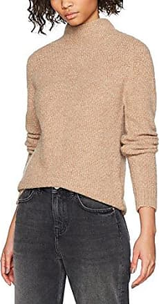Vila CLOTHES VISLIT 3/4 SLEEVE LONG KNIT TOP GV, suéter Mujer, Marrón (Roasted Pecan), 34 (Talla del fabricante: X-Small)