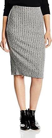 Nolas - Jupe - Crayon - Femme - Gris (grey Melange) - 34 (Taille fabricant:X-Small)Vila Rabais De Dédouanement 1uA5B