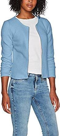 Vila Clothes Vinaja New Short Jacket-FAV, Chaqueta de Traje para Mujer, Verde (Seagrass Seagrass), 40 (Talla del Fabricante: Large)
