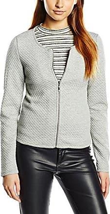 Clothes VINAJA New Long Jacket - Noos, Veston Femme, Gris (Light Grey Melange), 42 (Taille Fabricant: X-Large)Vila