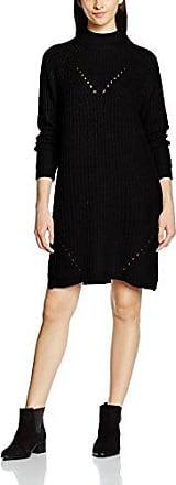 CLOTHES Vivelvy Tasja L/s Dress, Robe Femme, Multicolore (Black Aop:Vitasja Print Combo), 36 (Taille Fabricant: Small)Vila