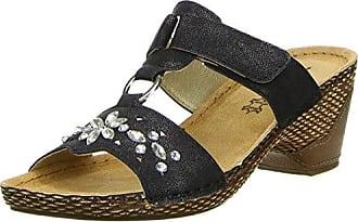 Damen Pantoletten Schwarz, Größe:39, Farbe:Schwarz Vista