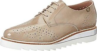 881-798, Zapatos de Cordones Brogue para Mujer, Gris (Grey 016), 39 EU Vitti Love