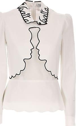 Shirt for Women On Sale, White, Viscose, 2017, 28 30 Vivetta
