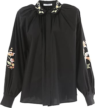 foliage print pussy bow blouse - Black Vivetta 2018 Cheap Price Clearance Top Quality 9zHS0