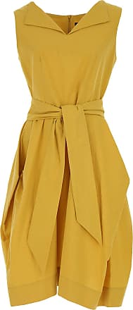 Dress for Women, Evening Cocktail Party On Sale, Yellow, Viscose, 2017, 10 Vivienne Westwood