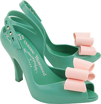 Pumps & High Heels for Women On Sale, Anglomania + Melissa, Green, PVC, 2017, 4.5 Vivienne Westwood