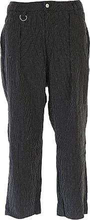 Pantalons Pour Les Hommes En Vente, Gris Foncé, Coton, 2017, De La Westwood Vivienne