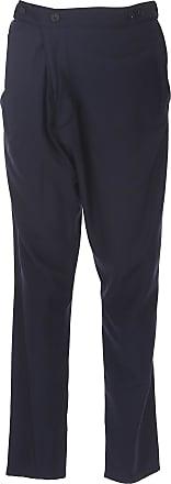 Pantalons Pour Les Hommes En Vente, Bleu Foncé, Laine, 2017, 32 34 38 Vivienne Westwood