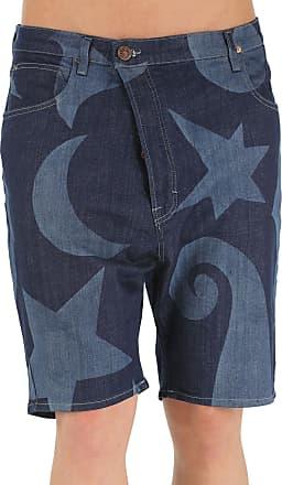 Shorts for Men On Sale, Anglomania, Denim, Cotton, 2017, 30 32 34 Vivienne Westwood