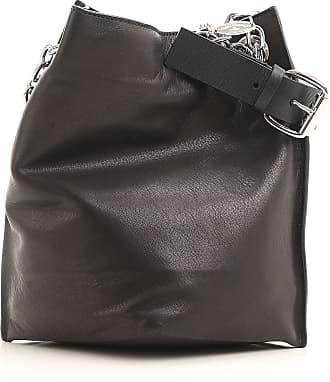 Shoulder Bag for Women, Blue, Leather, 2017, one size Vivienne Westwood