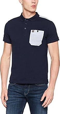 Voi Redford - Polo - Manches Courtes - Homme - Gris (Salt and Pepper Marl) - Small (Taille Fabricant: Small) fuv76GUf