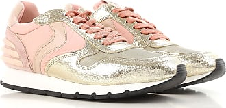 Sneakers for Women On Sale, White, Leather, 2017, 6.5 Voile Blanche