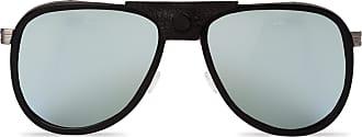 Vuarnet Verspiegelte Sonnenbrille GLACIER Acetat Edelstahl schwarz kq6ZPk
