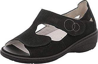 Günstig Kaufen Offiziellen Verkauf Wiki Damen Sandaletten Kiana 642802191/001 001 Schwarz 367031 Waldläufer Billig Aus Deutschland tvBLJZbHTl