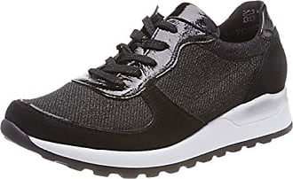 Henni, Zapatos de Cordones Derby para Mujer, Mehrfarbig (LightGold Weiss), 37 EU Waldläufer