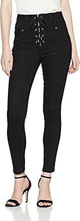 Warehouse Soft Pleat, Pantalones para Mujer, Negro (Black 77), 40