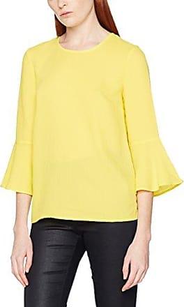 Cache Cache Tutobby, Blusa para Mujer, Amarillo (Micro-Motif-y 1116), 38 (Talla del Fabricante: 38)
