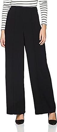 Warehouse Paper Bag Wide Leg, Pantalones para Mujer, Negro (Black 77), 42