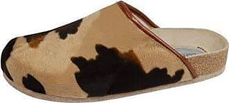 Weeger Unisex-Erwachsene 48013 Pantoffeln, Braun (Muhkuh Muhkuh), 48 EU