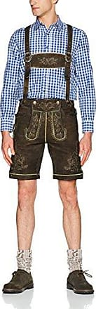 Fittus, Pantalones Para Hombre, Mehrfarbig (braun-hellgrün 518), 52 Wiesnkönig