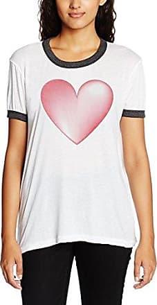 Wildfox Wild Fox Better In Real, Camiseta para Mujer, Negro (Clean Black Clean Black), 40(Tamaño Fabricante: Medium)
