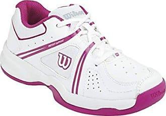 Wilson Envy Junior, Zapatillas de Tenis Unisex Niños, Rosa (Rose Violet/White/Boysen Berry), 31 1/3 EU