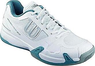 Damen Rush Pro 2.0 Clay Court W WH Tennisschuhe, Blanco, 40 Wilson