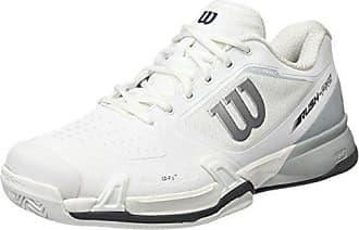 Herren Rush Pro 2.5 Clay Tennisschuhe, Weiß (White/Pearl Blue/Iron Gate 000), 44 EU Wilson