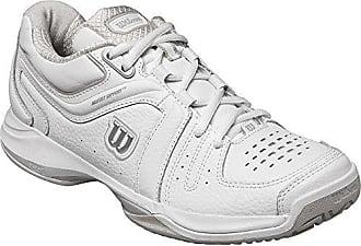 NVISION WOMAN, Damen Tennisschuhe, Mehrfarbig (White/White/Violet Ice), 43 1/3 EU (9 Damen UK) Wilson