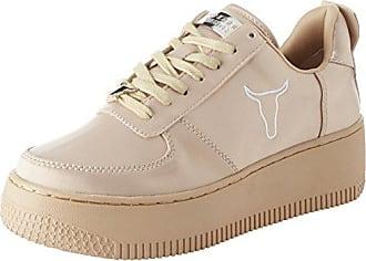 Olyvia Satin, Zapatillas para Mujer, Rosa (Nougat Nougat), 38 EU Windsor Smith