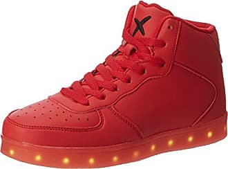 wize & ope LED-Low, Sneaker Unisex-Adulto, Rosso (rosso 03), 37 EU