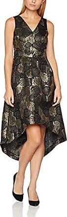 Womens Layla Gold Brocade Drop Hem Party Dress Wolf & Whistle uL1msj