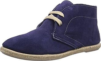 Urban Walk Valmy - Zapatos de cordones para mujer, color Blau - Bleu (Suède Night), talla 38