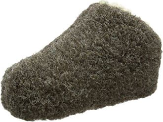 WOOLSIES Hedgehog Natural Wool Pantuflas Unisex Adulto, Verde (Green), 42 EU (9 UK)