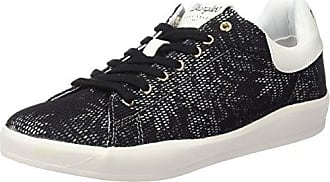 Damen Hohe Sneaker, Schwarz - schwarz - Größe: 39 Wrangler
