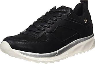 XTI Damen 046699 Sneakers, Schwarz (Black), 37 EU