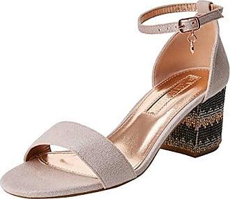 30689, Zapatos con Tacon y Tira Vertical para Mujer, Blanco (White), 39 EU Xti