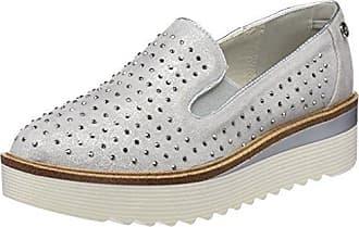 XTI 47800, Zapatos de Cordones Oxford para Mujer, Blanco (Hielo), 41 EU