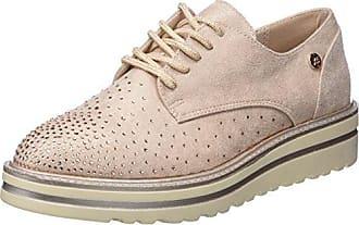 XTI 47799, Zapatos de Cordones Oxford para Mujer, Rosa (Nude), 37 EU
