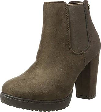 XTI 047400, Botas Chelsea para Mujer, Marrón (Taupe Taupe), 40 EU