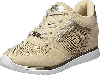 XTI 47799, Zapatos de Cordones Oxford para Mujer, Plateado (Platinium), 37 EU