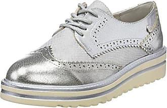 XTI 47772, Zapatillas sin Cordones para Mujer, Gris (Grey), 37 EU