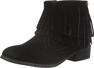 XTI 65228, Zapatillas de Estar por Casa para Mujer, Negro (Black), 36 EU