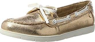 Xti Chaussures Pu Dames, Oxford Chaussures À Lacets Femmes, Rose (nu Nu), 38 Eu