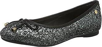 Damen Navy Metallic Ladies Shoes Geschlossene Ballerinas, Blau (Navy), 38 EU Xti