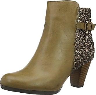 XTI Damen Stiefel 047340, Braun (Taupe), 38 EU